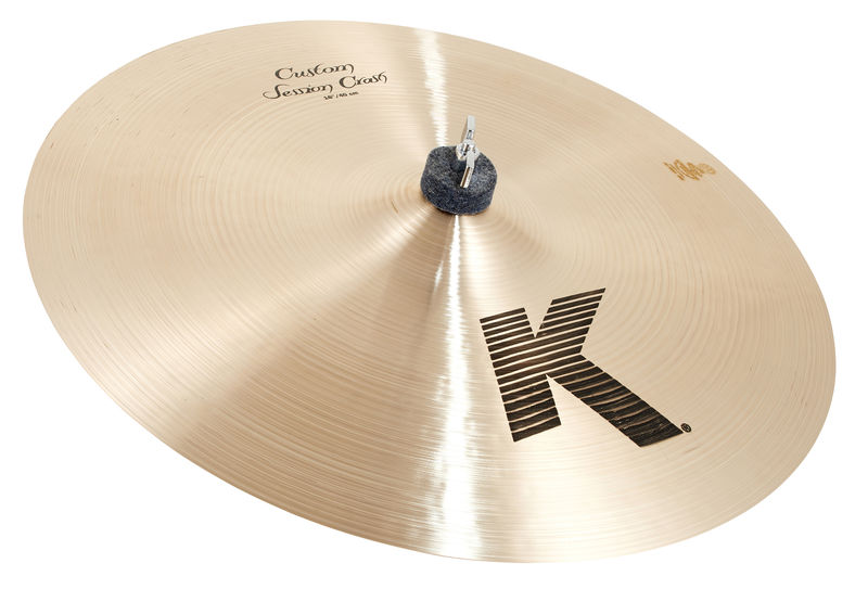 "Zildjian 16"" K-Custom Session Crash"