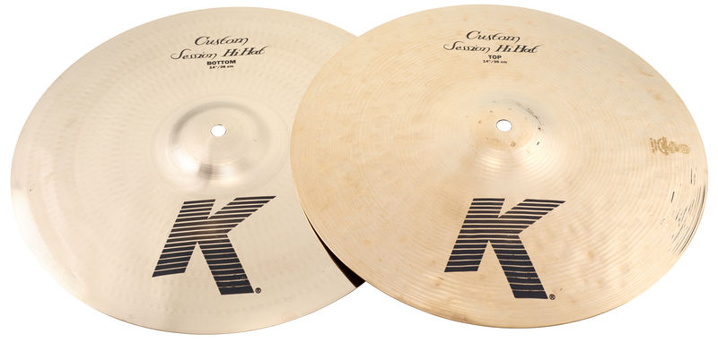 Zildjian 13,7/14 K-Custom Session HiHat