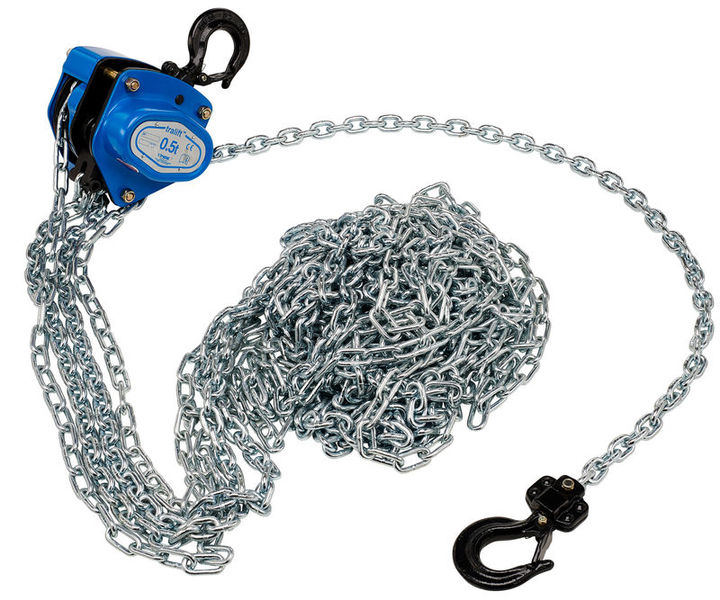 Tractel Hand Chain Hoist 500kg 8 mtr.