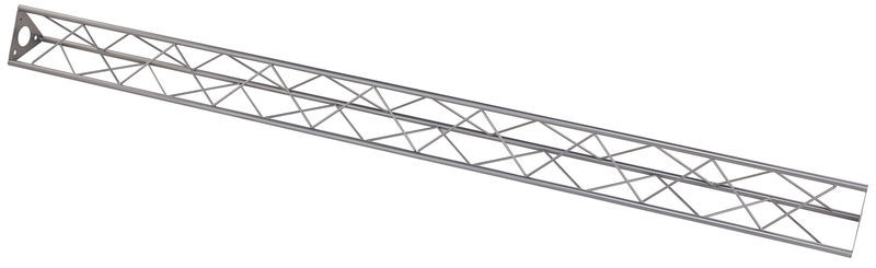 Decotruss 3 Point Truss Silver 2m