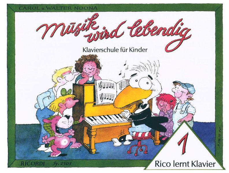 Ricordi Rico lernt Klavier 1