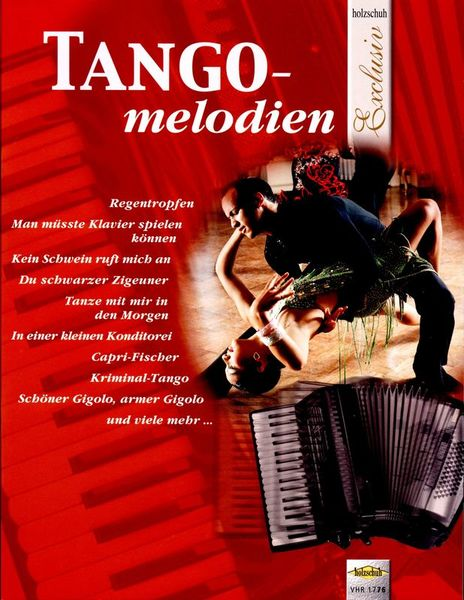 Holzschuh Verlag Tangomelodien Accordion