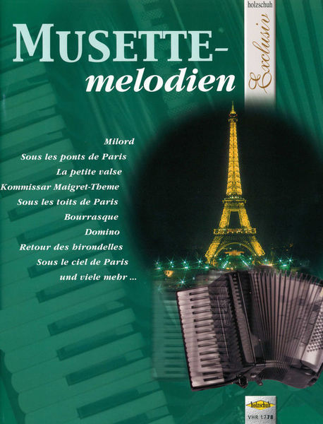 Holzschuh Verlag Musettemelodien Accordion