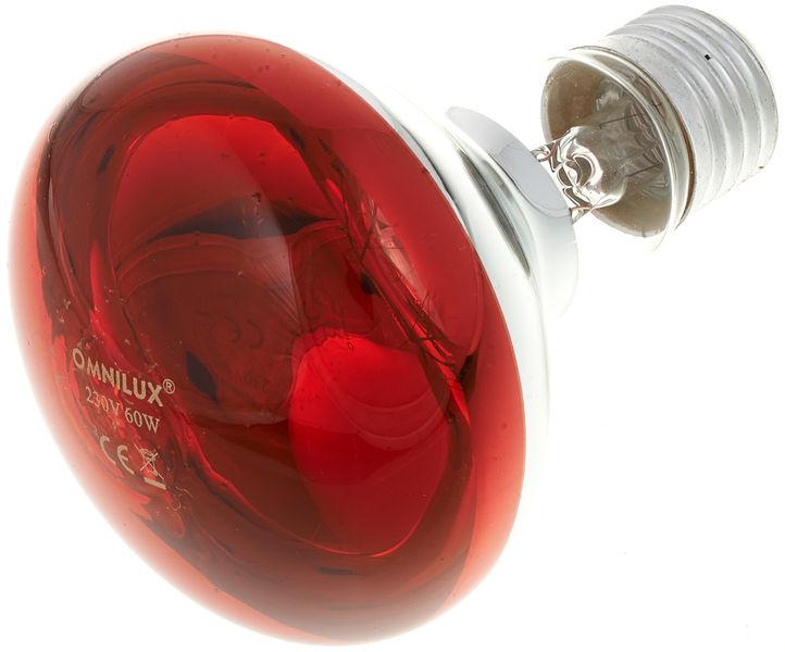 Omnilux R80 Lamp E27 Red