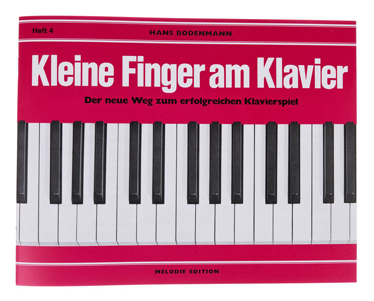 Edition Melodie Kleine Finger am Klavier 4