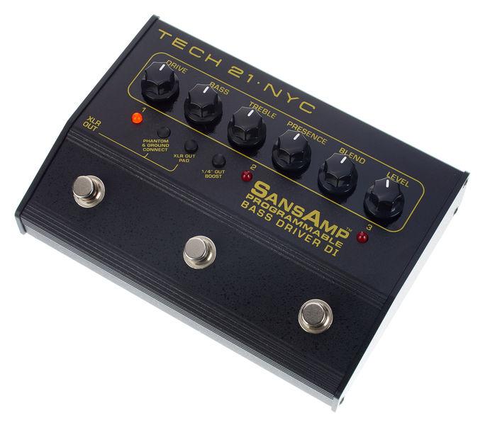Tech 21 Bass Driver D.I. Programmable