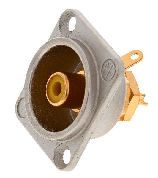 Neutrik NF2 D-4 Yellow