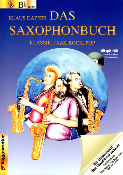 Voggenreiter Das Saxophonbuch 1 T-Sax