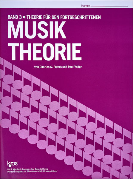 Neil A.Kjos Music Company Musik Theorie Band 3