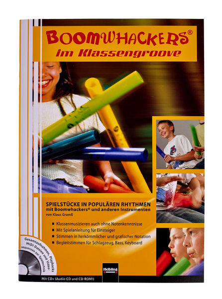 Helbling Verlag Boomwhackers im Klassengroove