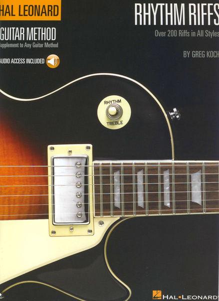 Hal Leonard Rhythm Riffs