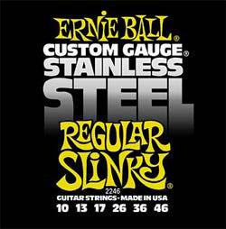 Ernie Ball 2246 Stainless Regular