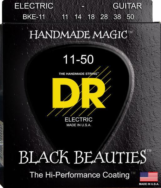 DR Strings Black Beauties BKE- 11