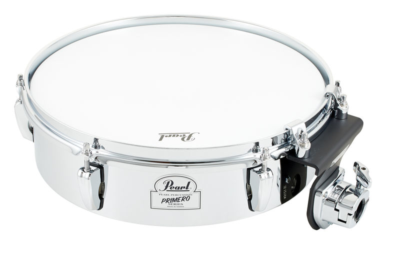 "Pearl Primero Flat Timbale 13"" Steel"