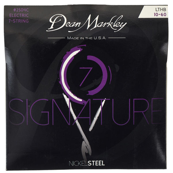 Dean Markley 2504C Sign. Ser. 7 Str LTHB