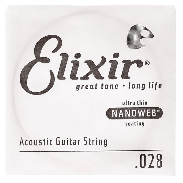 Elixir .028 Western Guitar