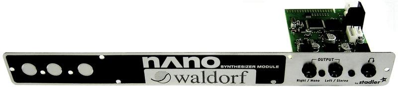 Waldorf Nano Synth für CME UF Keyboard