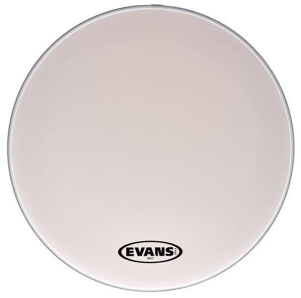 "Evans 26"" MX1 Bass Drum Head (White)"