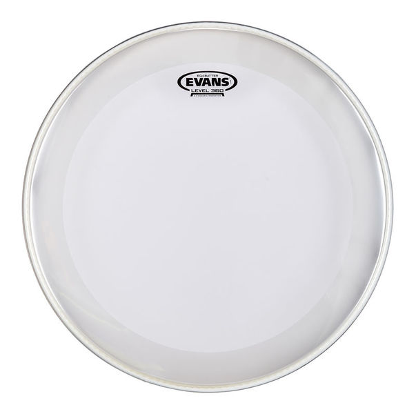 """Evans 18"""" EQ4 Clear Bass Drum"""