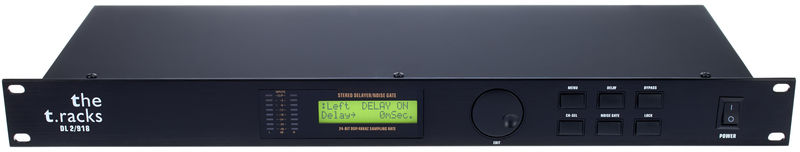the t.racks DL 2/918 Delay Line Controller