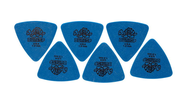 Dunlop Tortex Triangle 1,00 6 Pack