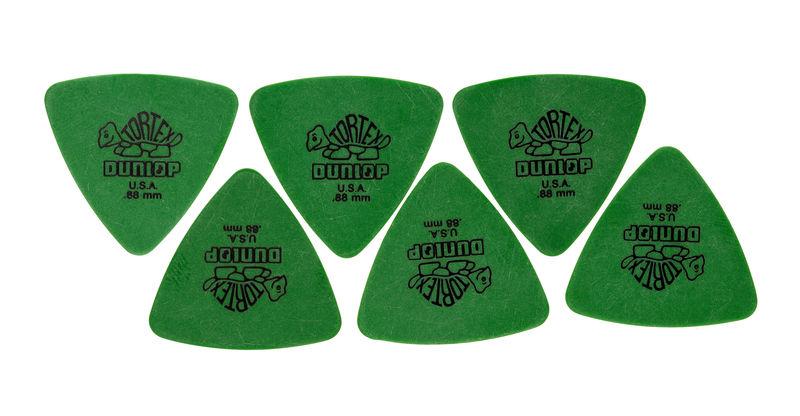 Dunlop Tortex Triangle 0,88 6 Pack