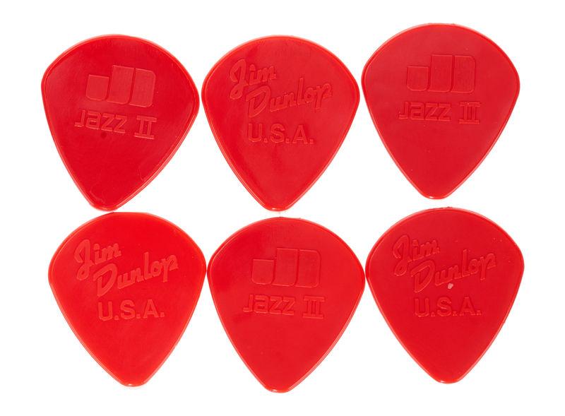 Dunlop Jazz II Red 6 Pack
