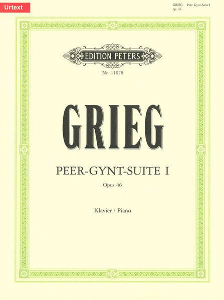Edition Peters Grieg Peer-Gynt-Suite 1
