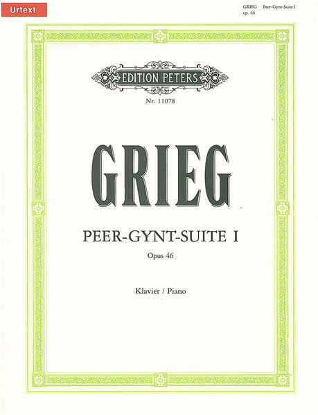 Edition Peters Grieg Peer-Gynt-Suite 1