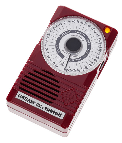 Wittner QM2 Metronome Ruby Red