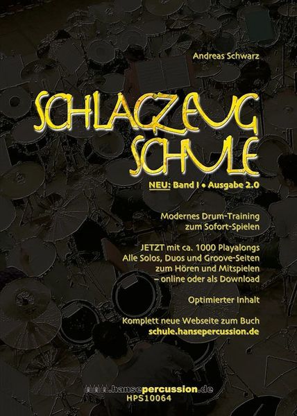 Hansepercussion Schlagzeugschule Bd.1  2.0
