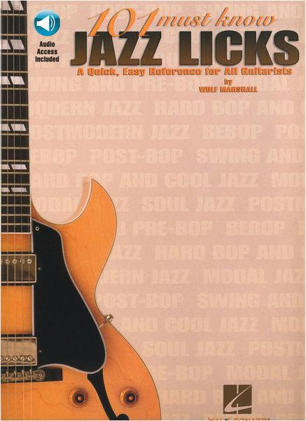 Hal Leonard 101 Must Know Jazz Licks