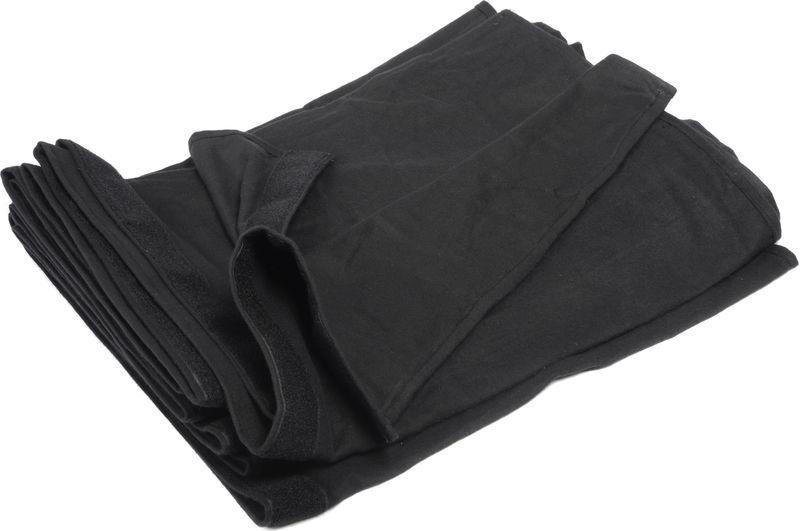 Stairville Skirt 300g/m² 2.0x1.0m Bk