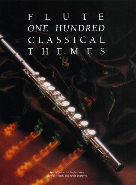 Music Sales 100 Classical Themes Flute