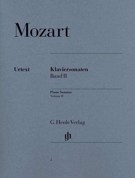 Henle Verlag Mozart Klaviersonaten 2