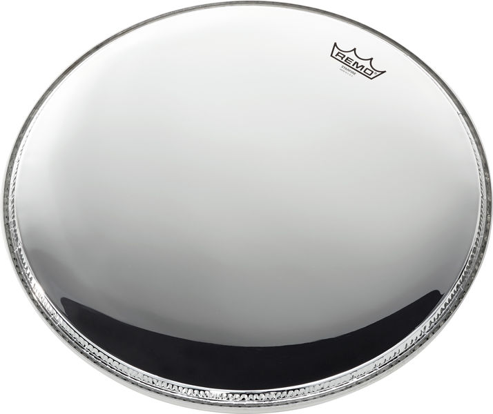 "Remo 18"" Starfire Bass Drum Chrome"