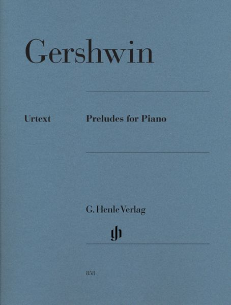 Henle Verlag Gershwin Preludes For Piano