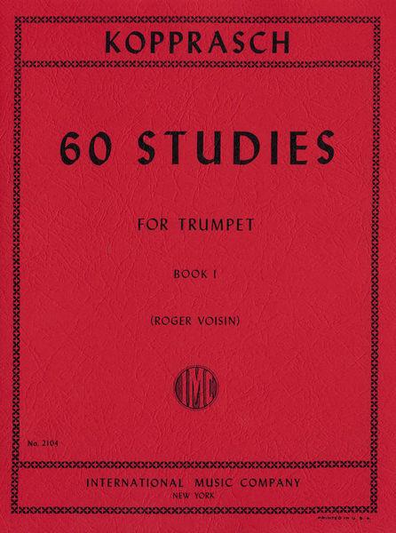 International Music Company Kopprasch 60 Studies 1 Trumpet
