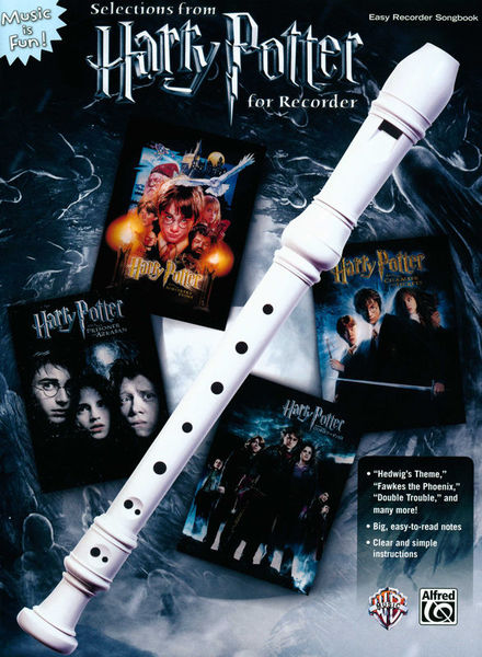 Alfred Music Publishing Harry Potter For Recorder