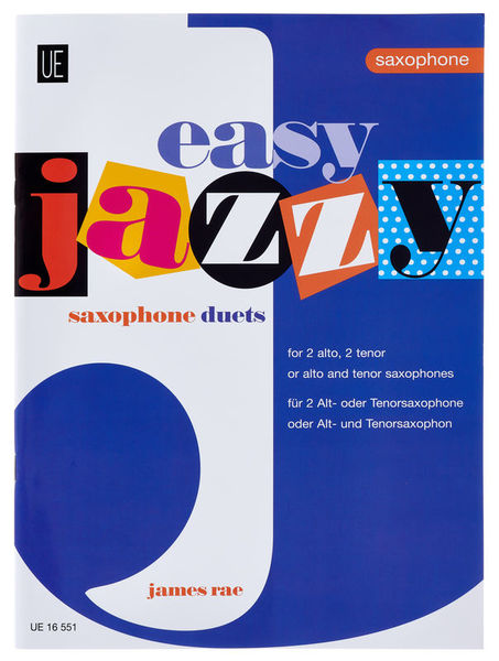 Universal Edition Easy Jazzy Saxophone Duets