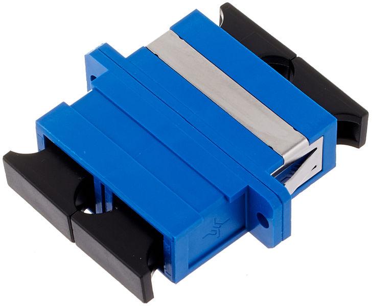 Telegärtner LWL SC-Duplex to SC-Duplex PVC