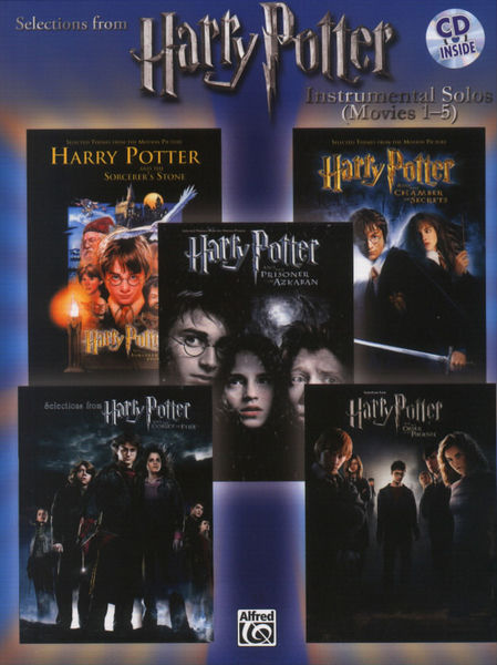 Alfred Music Publishing Harry Potter Selections Flute