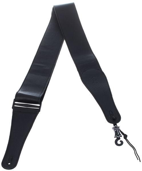 "Levys Garment Leather Strap 3"" BK"