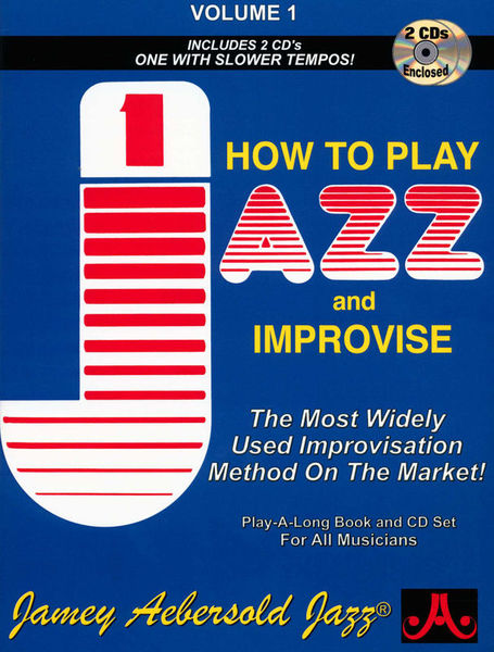 Jamey Aebersold How To Play Jazz Improvise 1 E