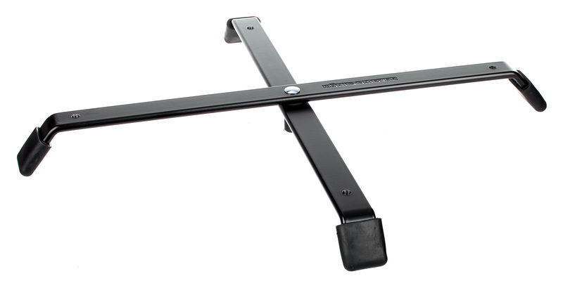 K&M 17710 Foldable Base for 4 Pegs