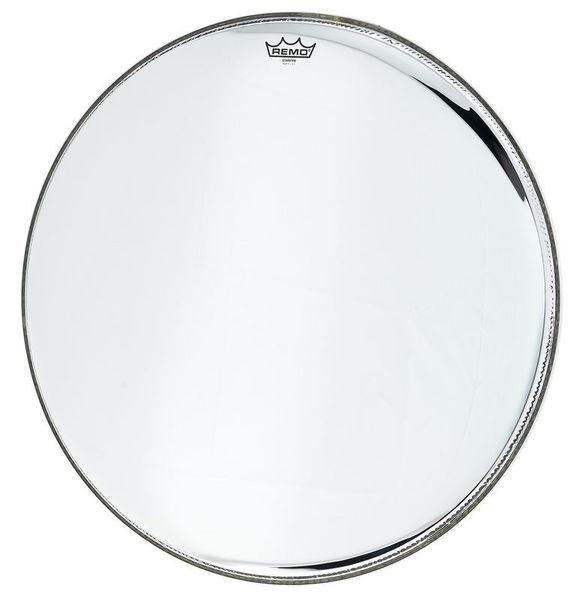 "Remo 26"" Starfire Bass Drum Chrome"