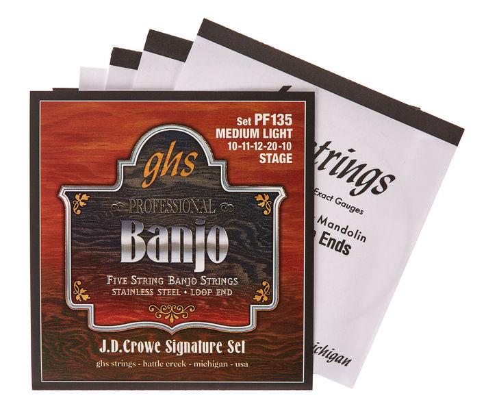 GHS PF135 JD Crowe Banjo Set