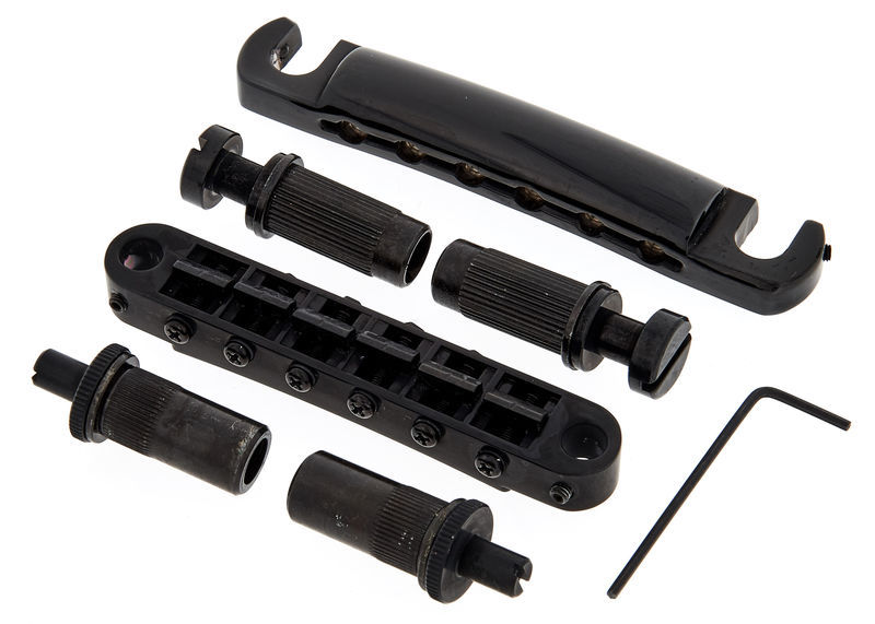 TonePros LPBM02 B Tuneomatic Set Black