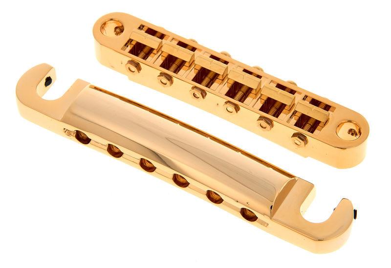 TonePros LPGM02 G Tuneomatic Set Gold