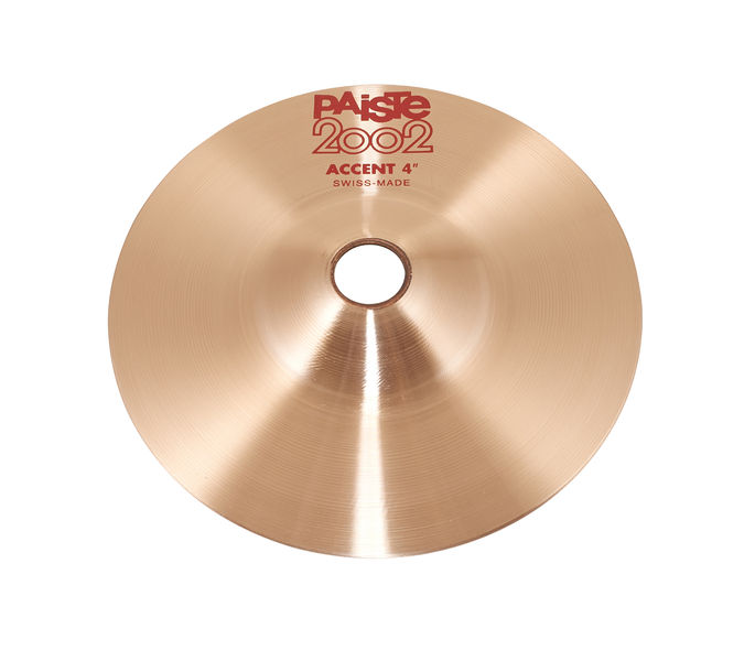 """Paiste 2002 04"""" Accent Cymbal"""